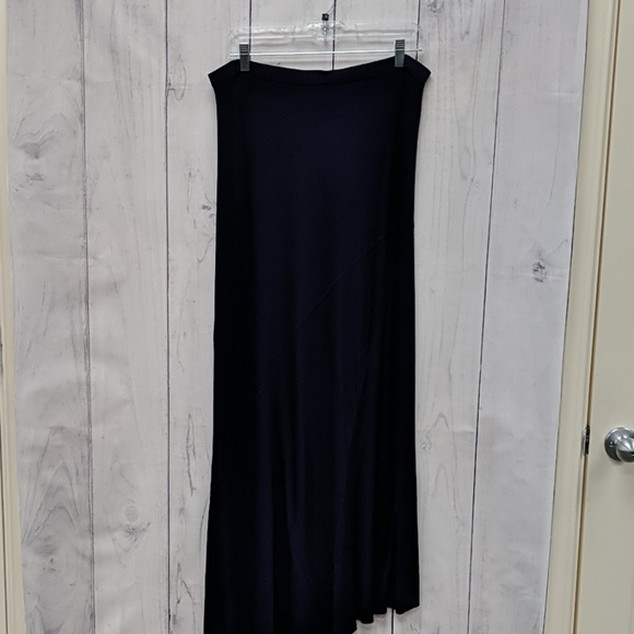 Design History Dresses & Skirts - 🛍️Design History Navy Blue Maxi Skirt Extra Large